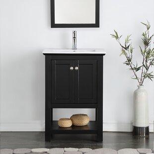 Black Bathroom Vanity. Save to Idea Board  Black Bathroom Vanities You ll Love Wayfair