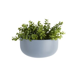 Oval Ceramic Wall Planter By Present Time