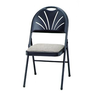 HG Plastic Padded Folding Chair (Set of 4) by MECO Corporation