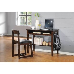 Best Diedrich Desk and Chair Set By Charlton Home
