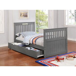Strang Twin Platform Bed with Trundle