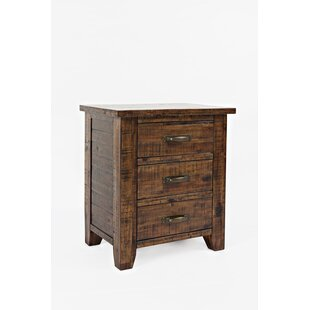Athol 3 Drawer Nightstand by Three Posts