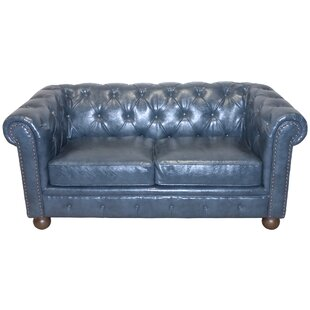 Winston Chesterfield Loveseat by Armen Living