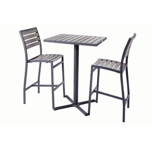 Madbury Road Bar Height 3 Piece Dining Se..