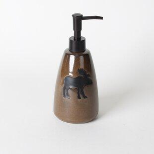 Silhouette Wildlife Lotion Dispenser