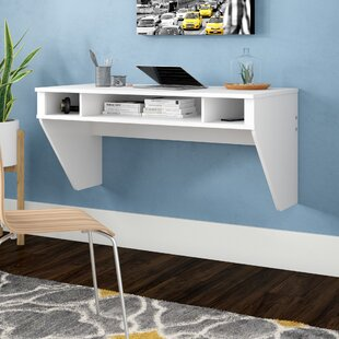 Dowlen 3 Shelf Floating Desk