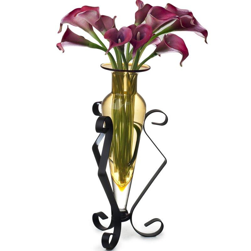 Danyab Amphora Vase On Stand Reviews Wayfair