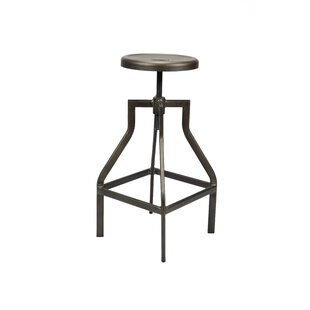 Estrada Height-Adjustable Swivel Bar Stool (Set Of 2) By Williston Forge