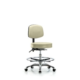 Rufus Medium Bench Height Adjustable Lab Stool