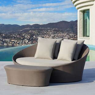 Ove Decors Costa Rica 2 Piece Sofa Seating Group with Sunbrella Cushions