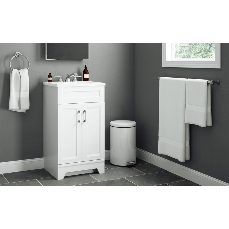 Rosecliff Heights Estelle 19 Single Bathroom Vanity Set Reviews Wayfair
