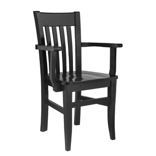 Henson Solid Wood Dining Chair by Breakwater Bay Great price