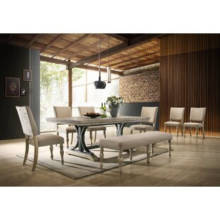 Dasher 8 Piece Drop Leaf Dining Set