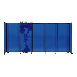 StraightWall? 7 Panel Room Divider by Versare