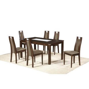 Northampton Dining Set With 6 Chairs By Ophelia & Co.