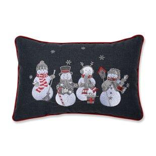 Sinclair Christmas Frosty and Friends Lumbar Pillow