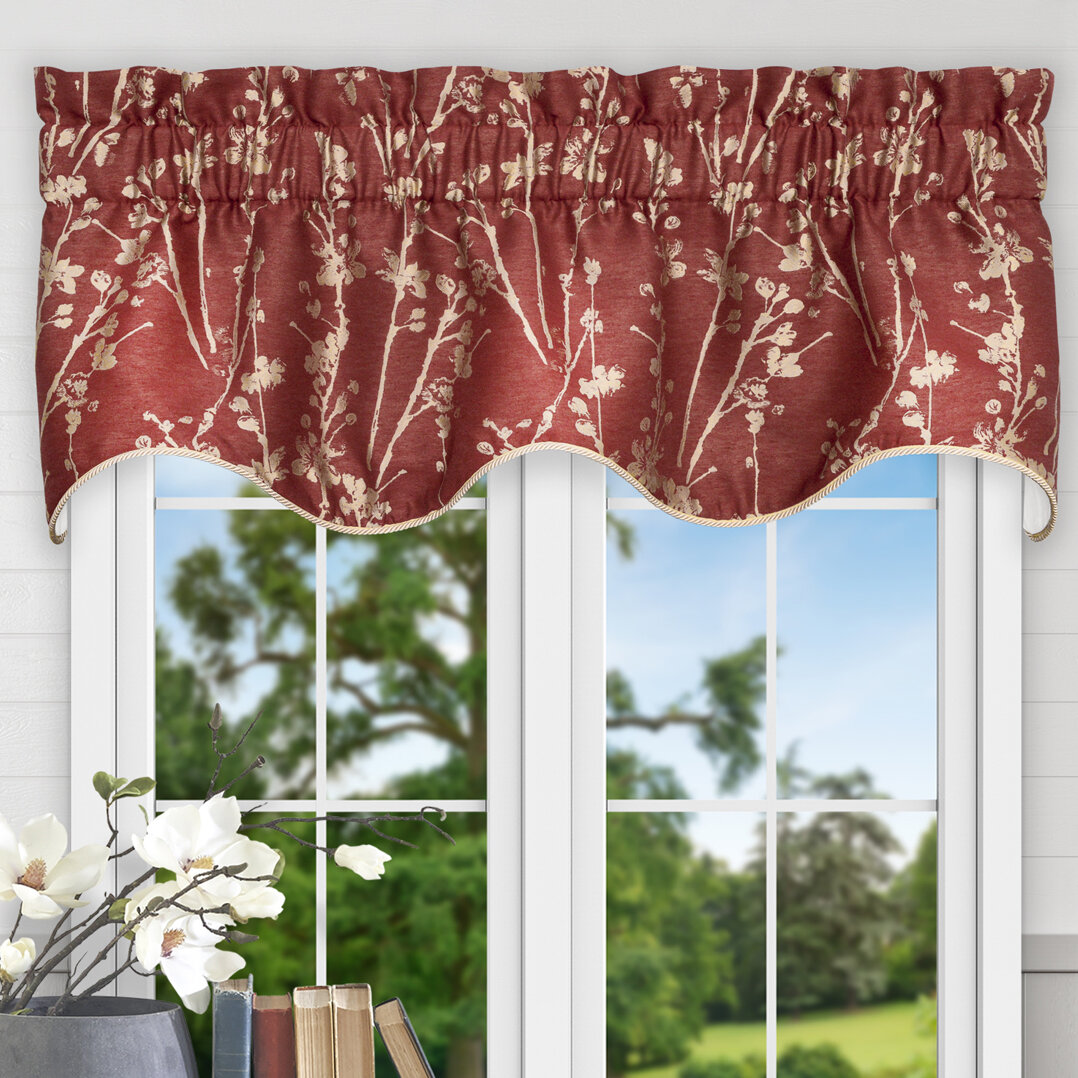 Winston Porter Mahtomedi 50 Window Valance Reviews Wayfair