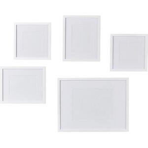 Wayfair Basics 5 Piece Picture Frame Set