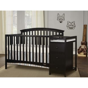 Niko 3-in-1 Convertible Crib and Changer Combo By Dream On Me