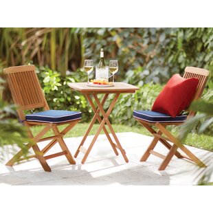 Roseland Brazilian Eucalyptus 3 Piece Bistro Set