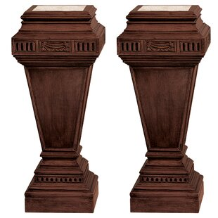 Comparison Neoclassical Regent End Table (Set of 2) by Design Toscano
