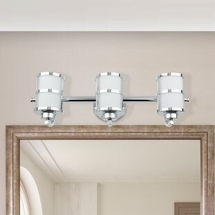 Best Price Simoes 3-Light LED Vanity Light By Winston Porter