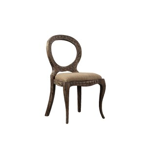 Aged Pendant Solid Wood Dining Chair (Set..