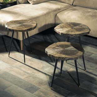 Masaitis 3 Piece Coffee Table Set