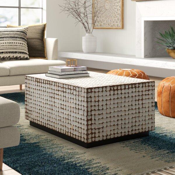 Solid Wood Block Coffee Table Wayfair