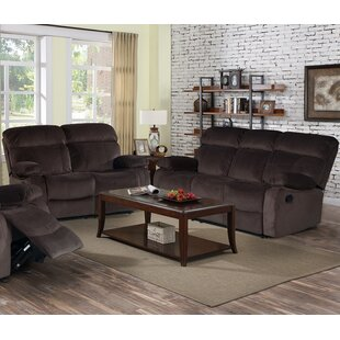 Living In Style Alvia Reclining 2 Piece Living Room Set