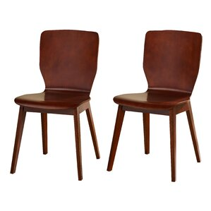 Maude Wood Side Chair (Set of 2) by Langley Street
