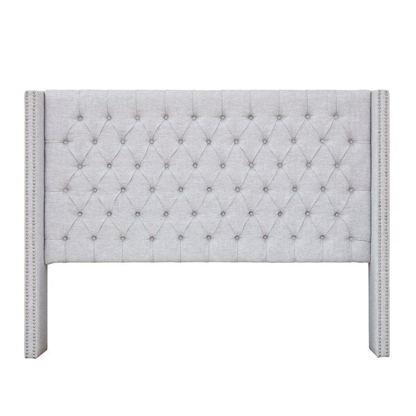 Candice Upholstered Wingback Headboard by Allmodern