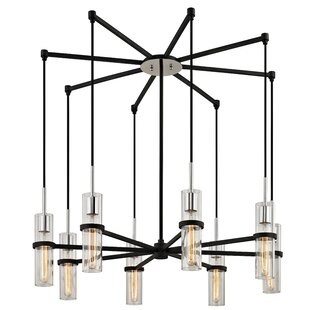 Williston Forge Hattaway 8-Light Sputnik Chandelier