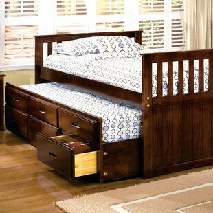 St Marks Place Storage Twin Platform Bed with Trundle by Harriet Bee