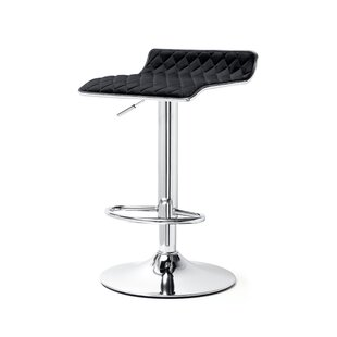 Adjustable Height Swivel Bar Stool Set of 2 by Meelano