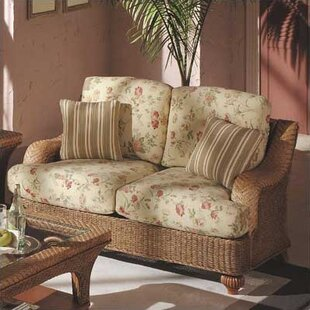 6100 Edge Hill Loveseat by South Sea Rattan