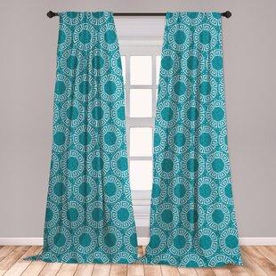Aqua Curtains Wayfair