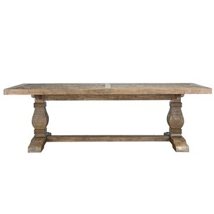 Gertrude Solid Wood Dining Table by Lark Manor Looking for