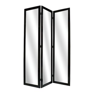 Screen Gems Mirror 3 Panel Room Divider