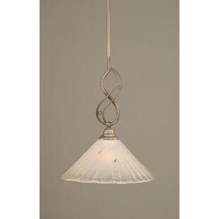 Thomason 1-Light Mini Pendant by Fleur De Lis Living
