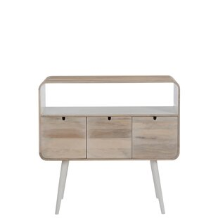 3 Drawer Console Table By Symple Stuff