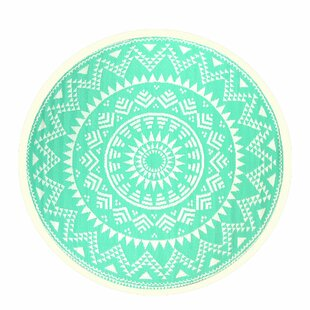 Bannister Turquoise Rug By Bloomsbury Market
