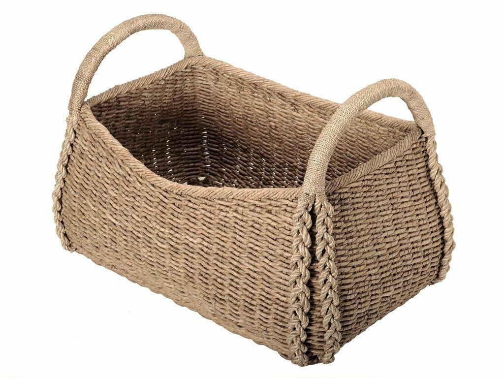 Marvelous Oversized Sea Grass Storage Basket