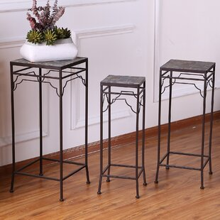 Coupon 3 Piece Pedestal Plant Stand By Winsome House