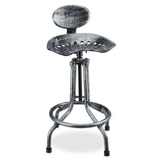 Traktorsitz Height Adjustable Bar Stools By Williston Forge