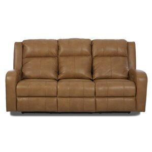 Acorn Oaks Reclining Sofa with Headrest and ..