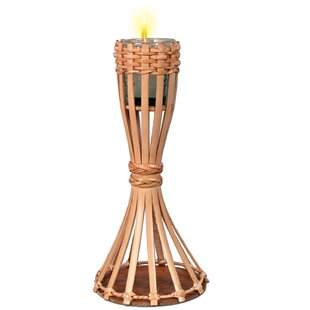 The Beistle Company Bamboo Tabletop torch