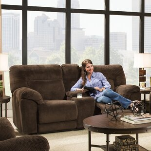Simmons Upholstery Radcliff Motion Reclining Loveseat