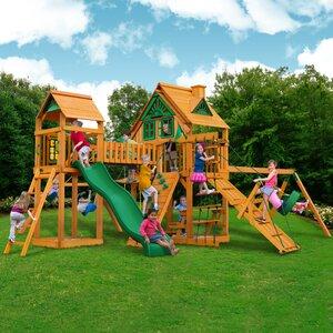 Pioneer Peak Treehouse Swing Set
