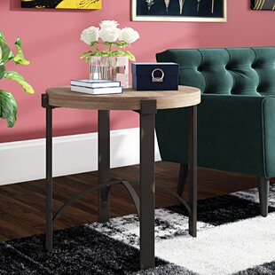 Baratta End Table by Ivy Bronx